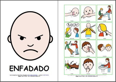 pictogramas emociones arasaac - Buscar con Google | Colegio ...
