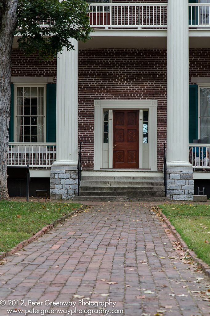 Back Door Of The Hermitage, Nsahville Tennessee