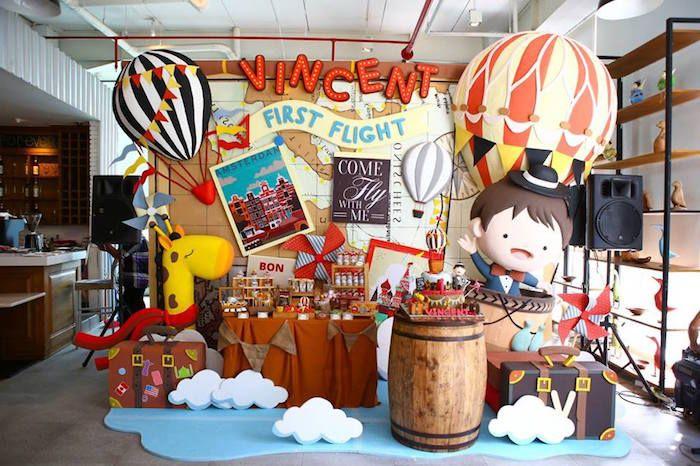 Vintage Travel Themed Birthday Party Vintage Travel Themes
