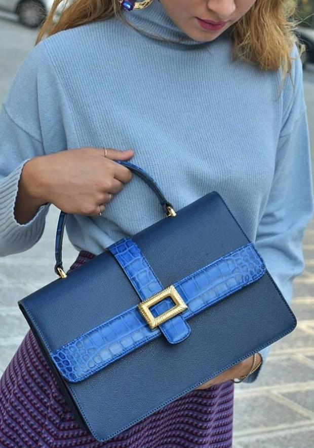 08589b5a0a Beautiful designer leather handbag
