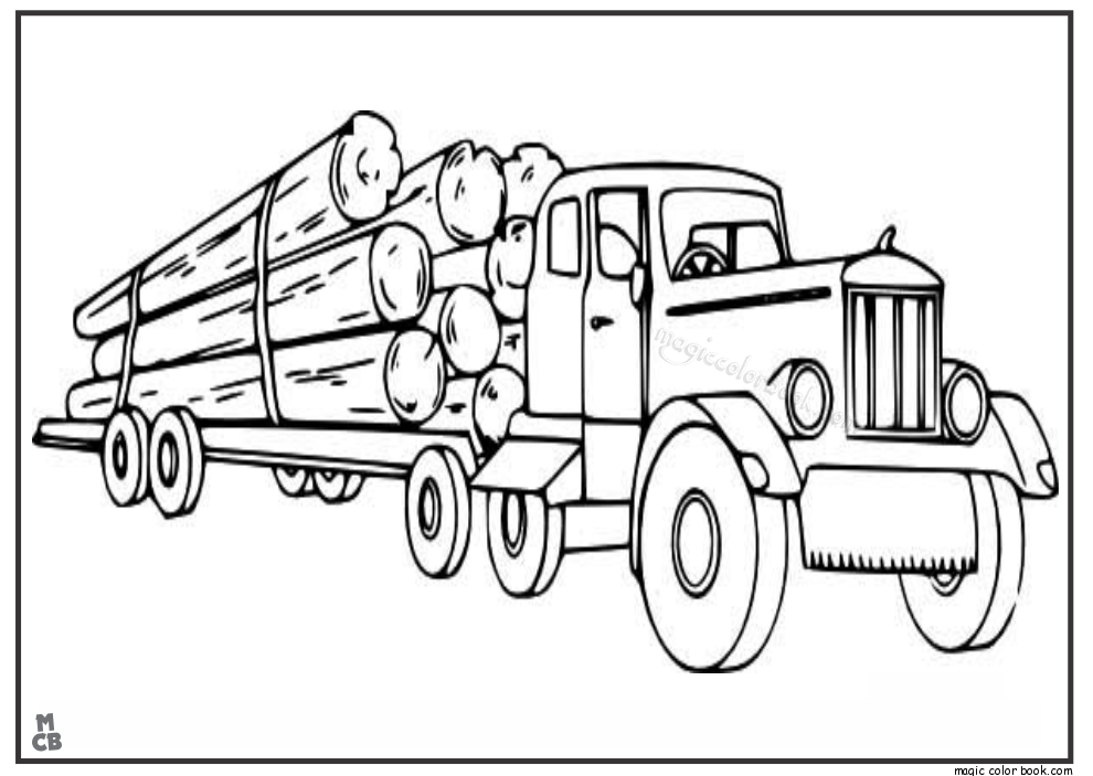 Log Truck Coloring Pages Logging Semi Truck Coloring Pages Truck Coloring Pages Monster Truck Coloring Pages Coloring Pages