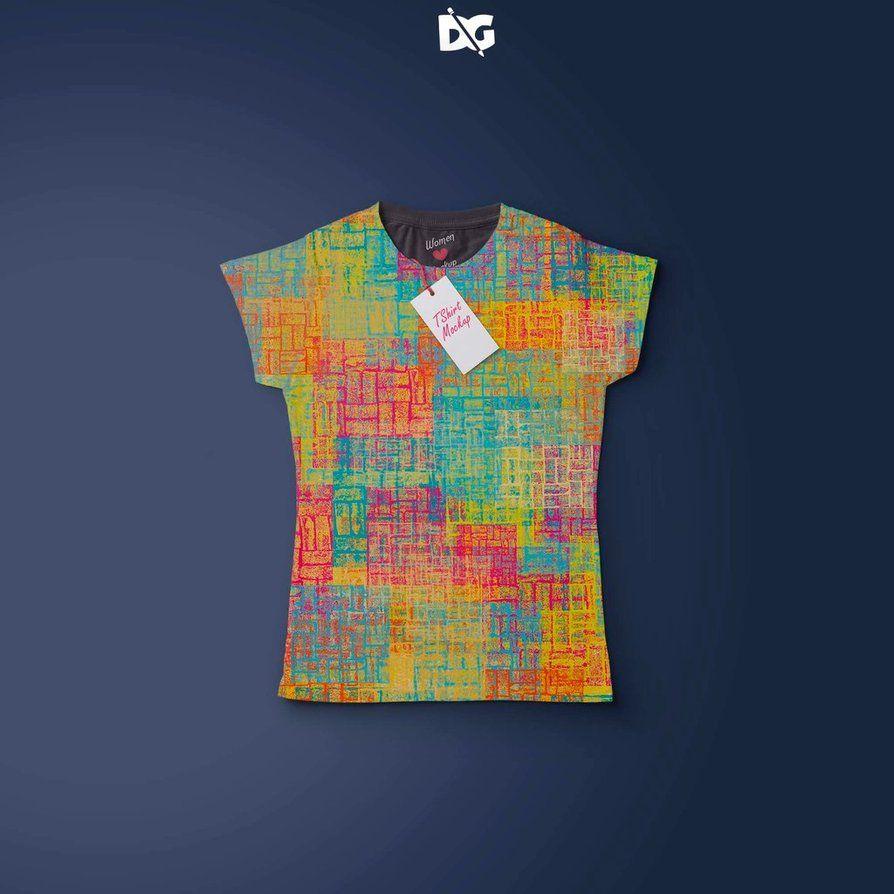 Download Women T Shirt Design Presentation Psd Mockup By Arunrameshimpex Deviantart Com On Deviantart Shirt Mockup Logo Design Mockup Tshirt Designs