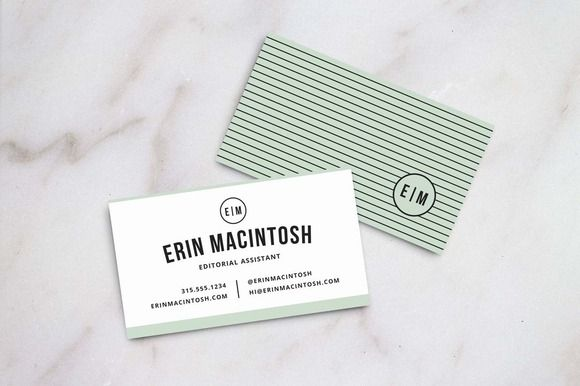 Check out Creative Business Card Template by Refinery Creative Co ...