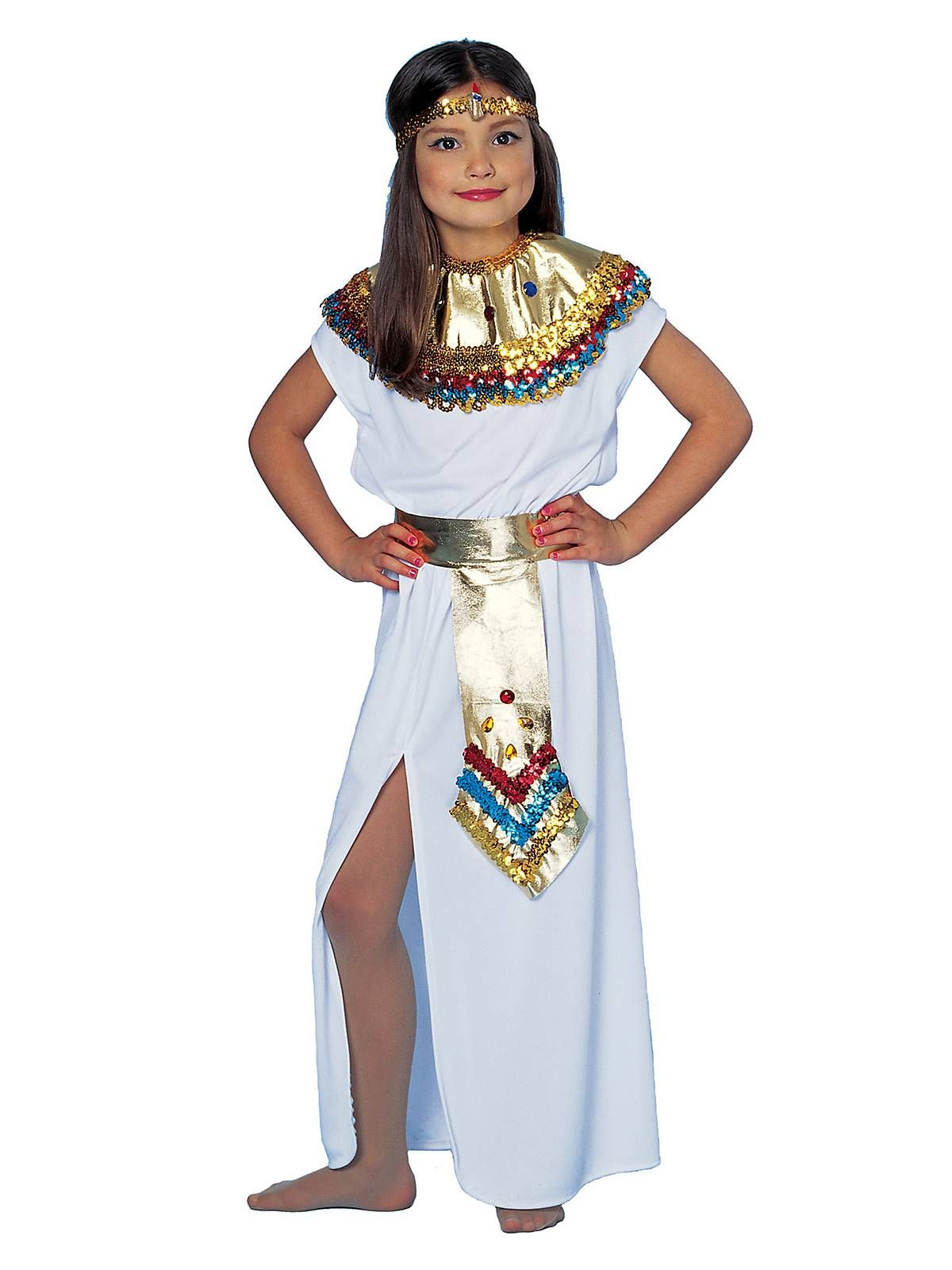 Cleopatra Kids Costume | Wholesale Egyptian Costumes for Girls  sc 1 st  Pinterest & Cleopatra Child Costume | Pinterest | Egyptian costume Cleopatra ...
