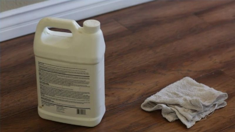 How do i remove dry paint from hardwood floors ehow