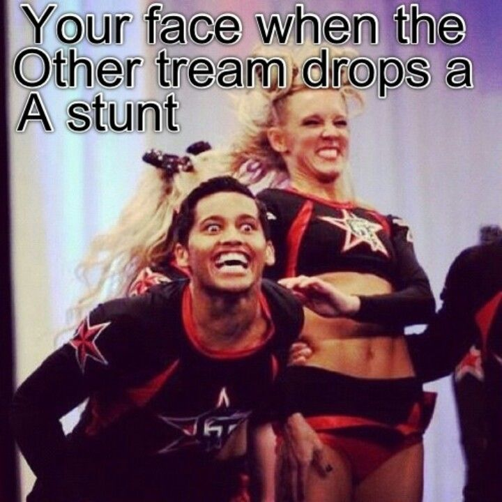 Hahaha true Competitive cheer, Cheerleading memes, Cheer