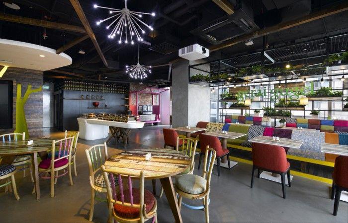 Google - Kuala Lumpur Offices | Office Snapshots | Office interior design, Office design, Office interiors