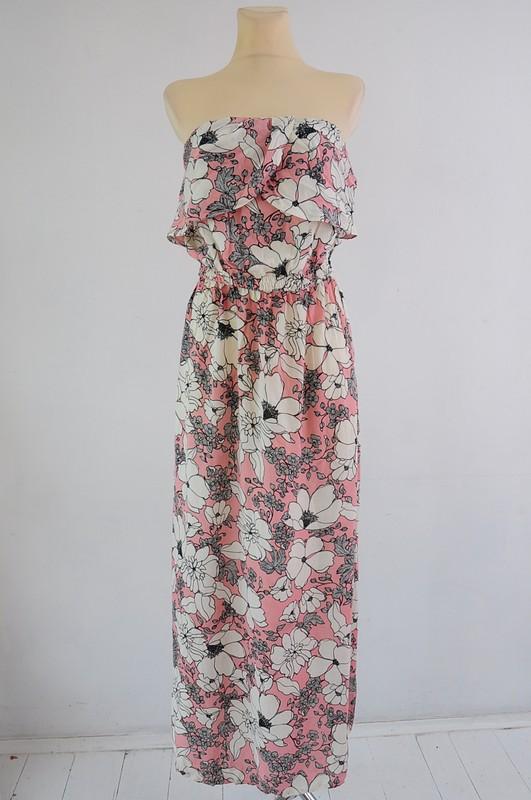 Sukienka Letnia Kwiaty Maxi R 38 Stella Vinted Dresses Maxi Dress Fashion