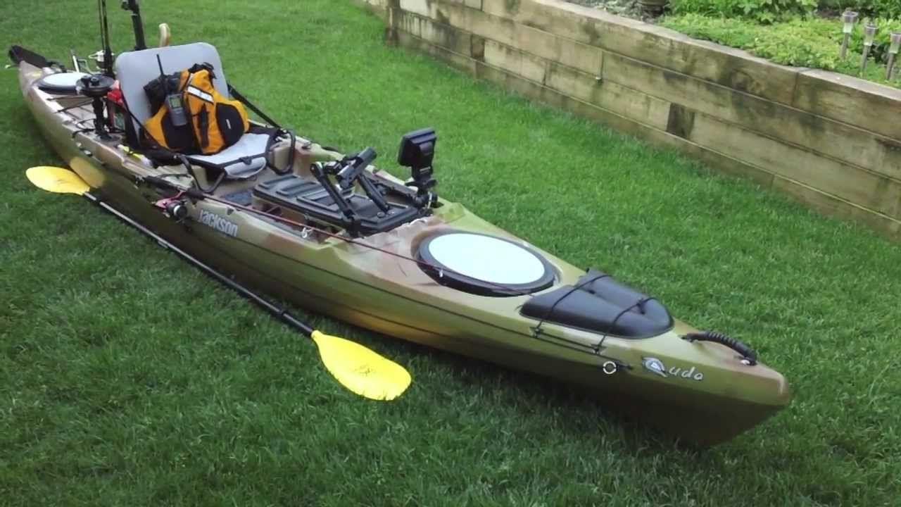 High tech fishing kayak mods video fishing rag for Kayaks for fishing