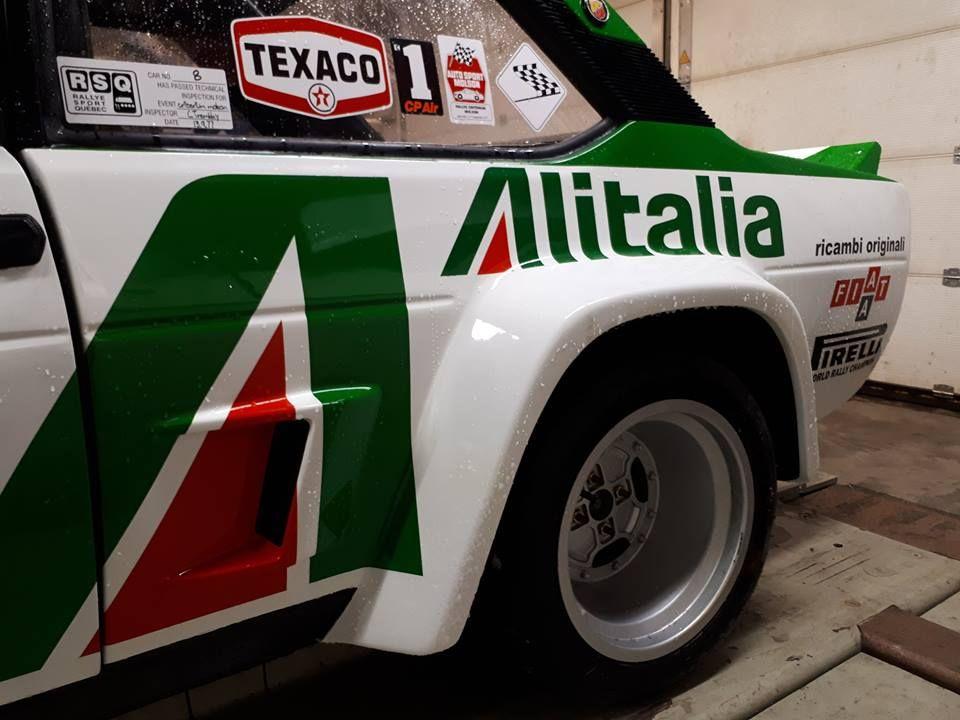 Restauro 131 Canada 1977 Salonen Fiat Abarth Fiat Rally