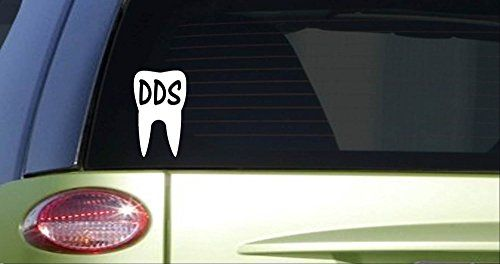 Dds tooth i378 6 inch tall sticker decal dentistry dent https