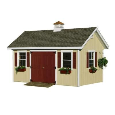 Home Depot Home Place Structures 10 X 16 5 899 Garden Buildings Outdoor Storage Sheds Best Barns