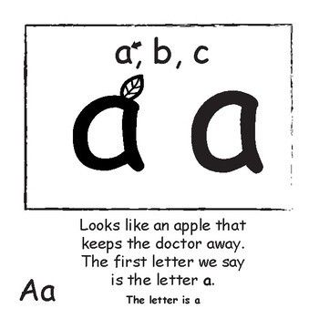 Lowercase Letter Identification and Recognition: Mister