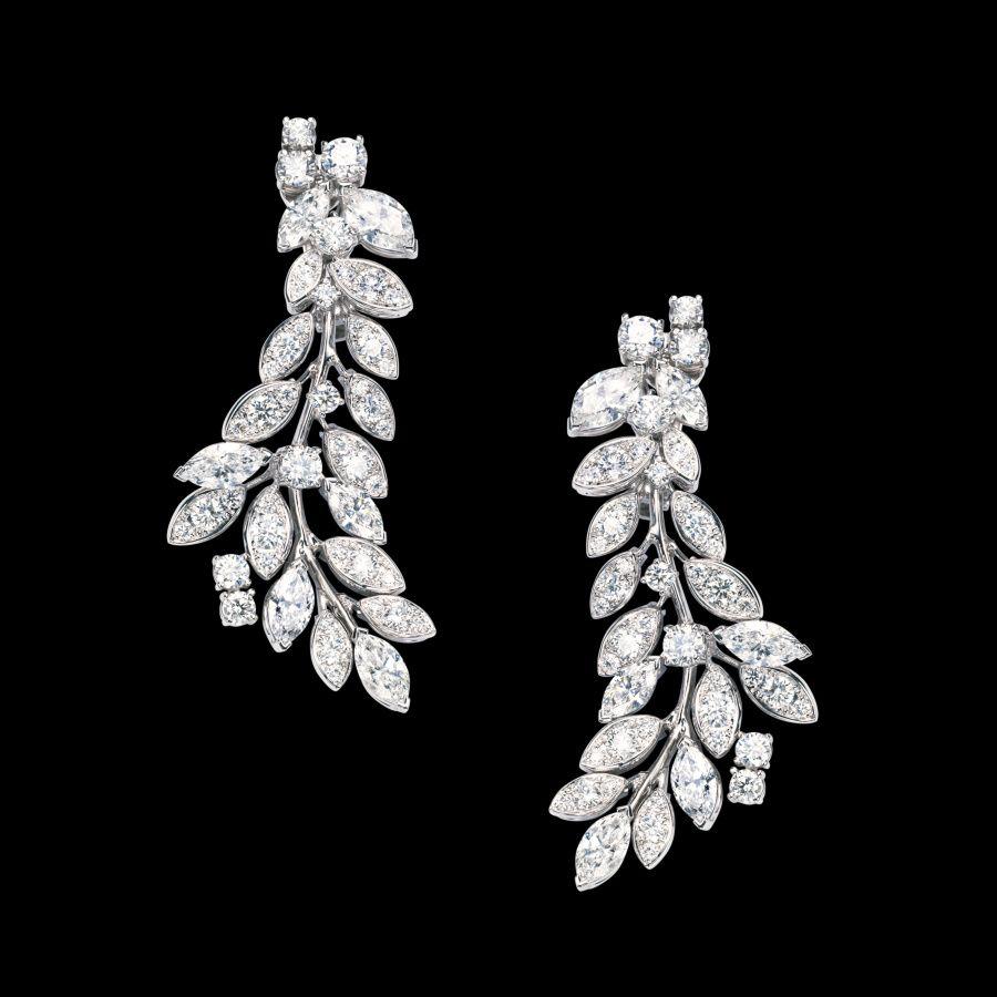 White gold Diamond Earrings G38LF200 - Piaget Luxury Jewelry ...