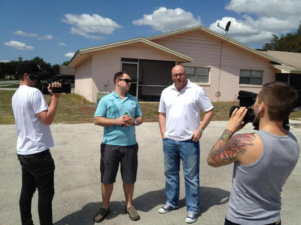 Steve and his mentor John buying a 27 unit development in Florida.