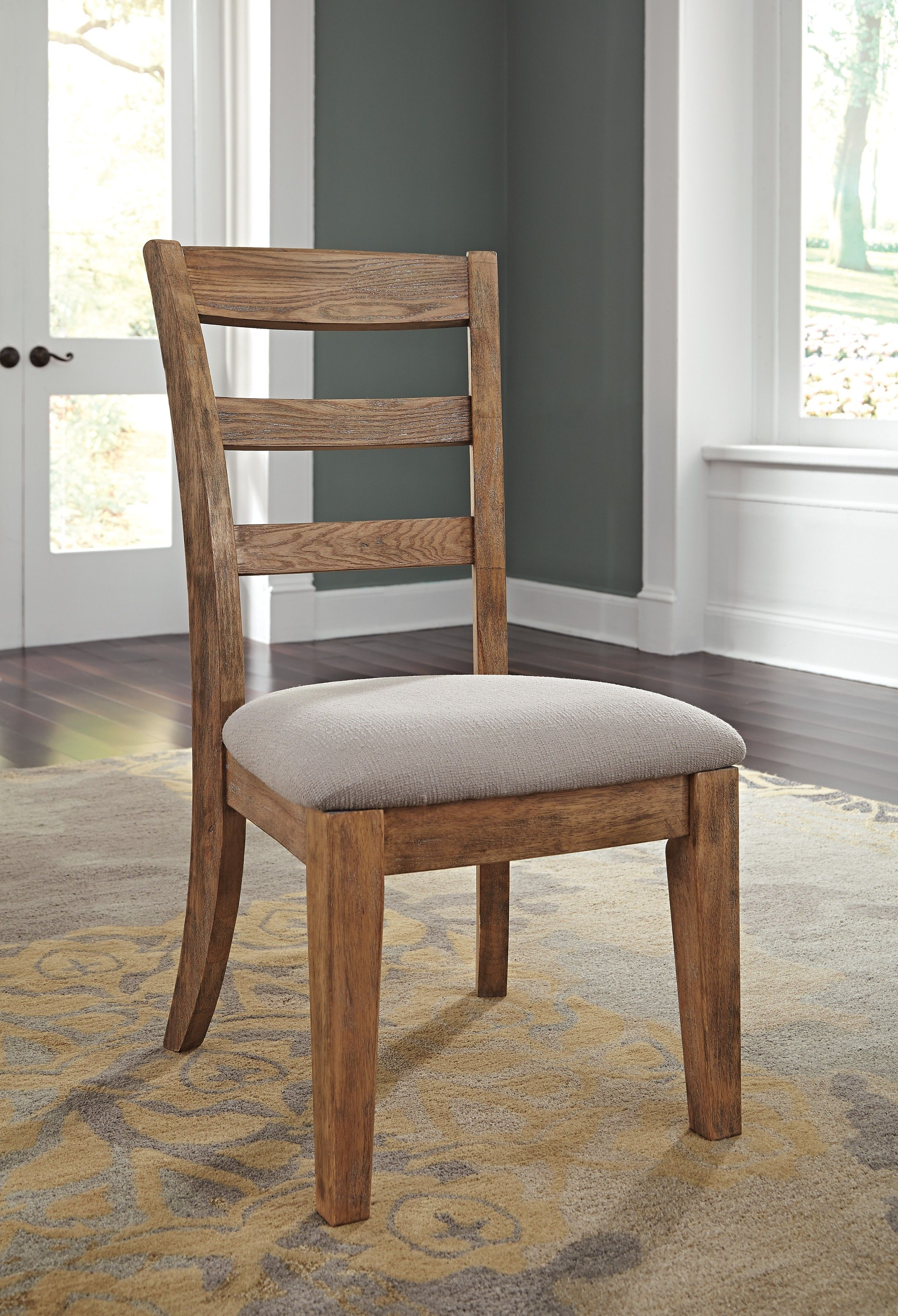 signature design by ashley dining chairs on ashley danimore d473 01 signature design dining uph side chair 2 cn upholstered side chair brown dining chairs furniture pinterest