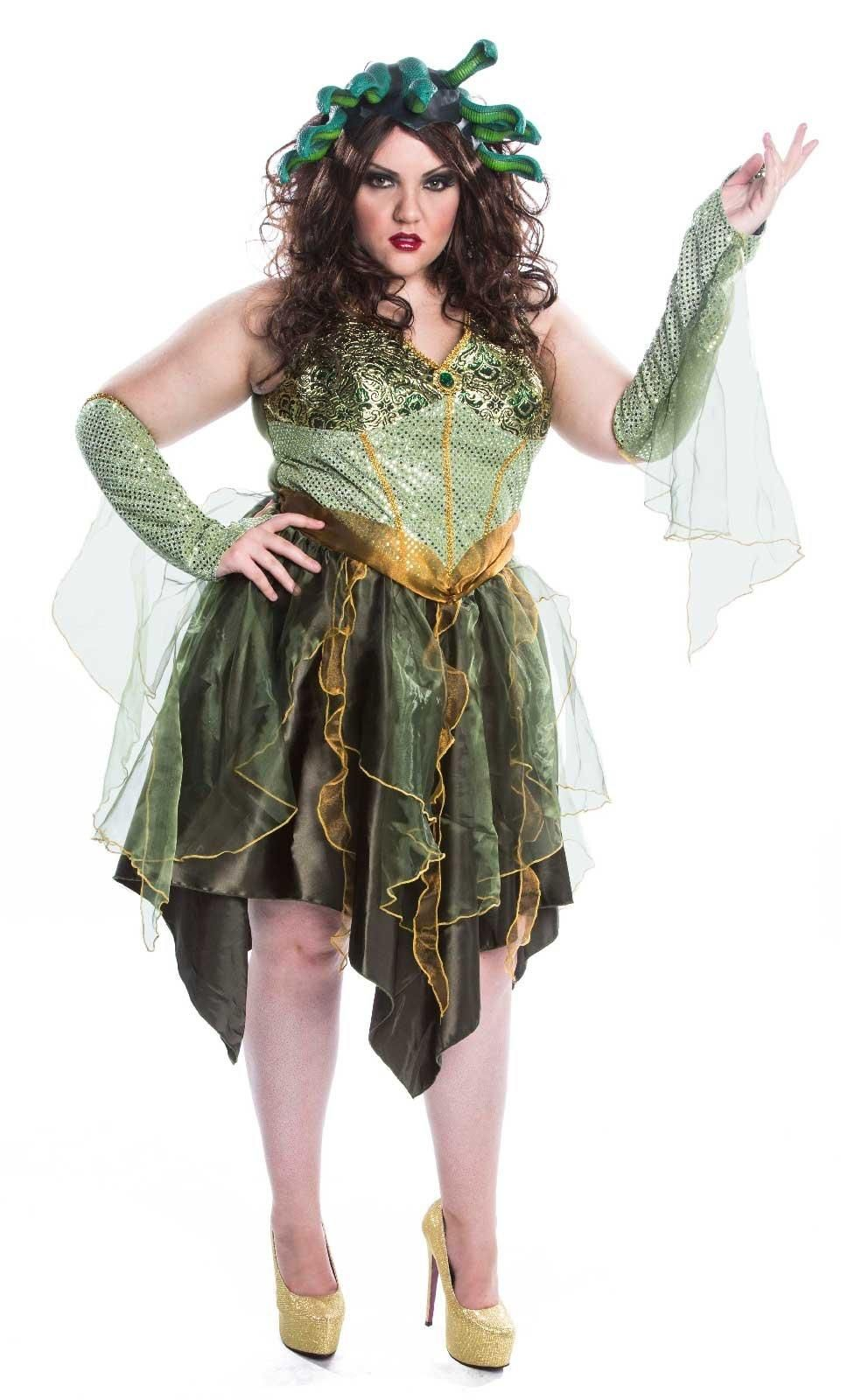 Mesmerizing Medusa Plus Size Adult Costume from