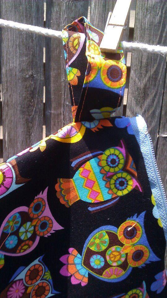 Owl wristlet pouch girls by tjantnesh on Etsy, $9.50