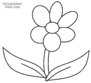 Dibujo de flores para imprimir y pintar  Searching