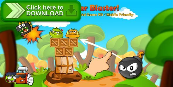 Free nulled Monster Blaster! 2D & 3D Physics Game Template