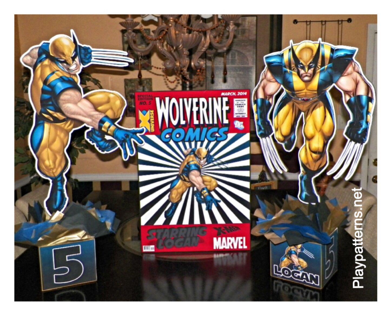 3pk wolverine leather work gloves extra large - Wolverine Super Hero Birthday Party Centerpieces Centerpiece Party Ideas Playpatterns Net