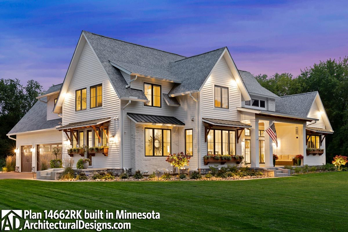 Plan 14662RK: Modern Farmhouse Plan Rich with Feat