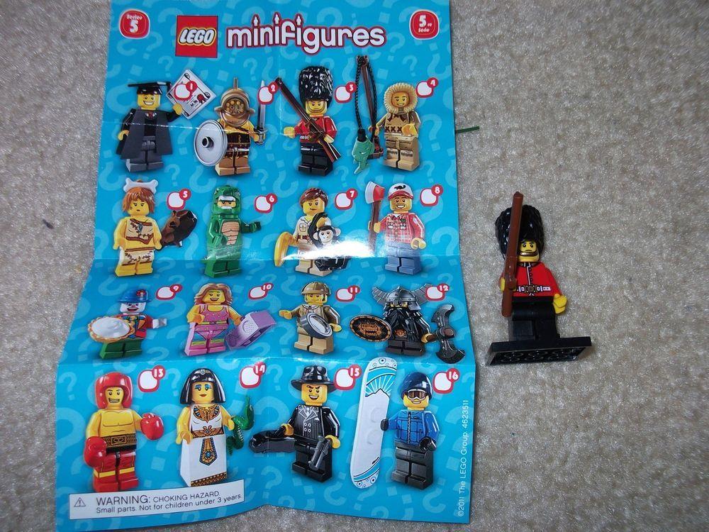 LEGO 8805 Royal Guard Minifig Minifigure Series 5