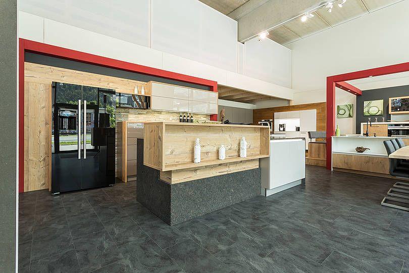 Mehr oder weniger Einblick in die Küche, Arbeitsfläche, Stehpult - küche mit bar