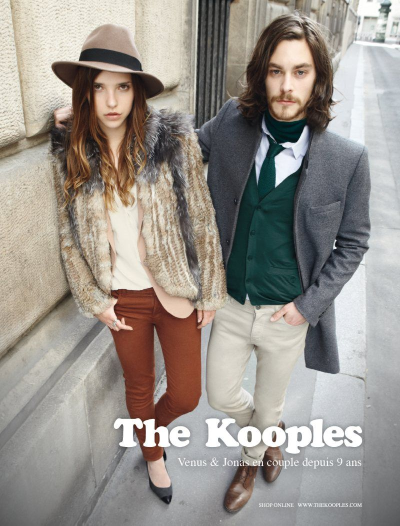88a8f4b5ee Alexandre Cunha & Jonas Kesseler for The Kooples Fall 2011 Campaign ...
