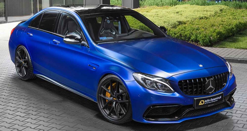 مرسيدس آي أم جي سي 63 أس شارون 2021 سيدان فاخرة خرافية بقوة 855 حصان من أوتو دايناميكس موقع ويلز Mercedes Amg Amg C63 Sedan