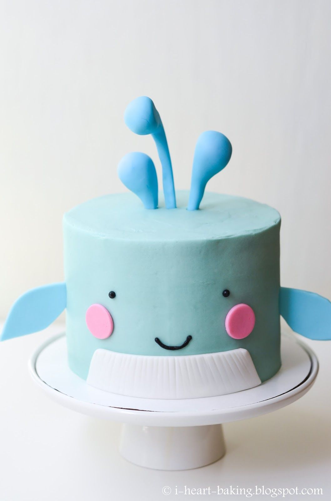 whale birthday cake iheartbaking Pinterest Birthday cakes