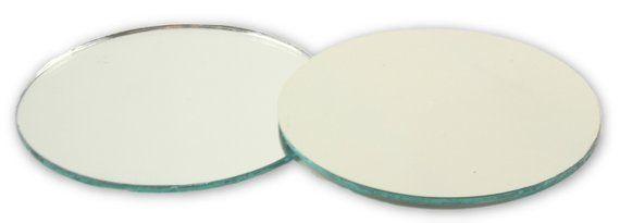 2 Inch Small Round Craft Mirrors Tiles Bulk Wholesale Cheap 100 Pieces Small Round Mirrors Mosaic Tile Mirror Mirror Tiles