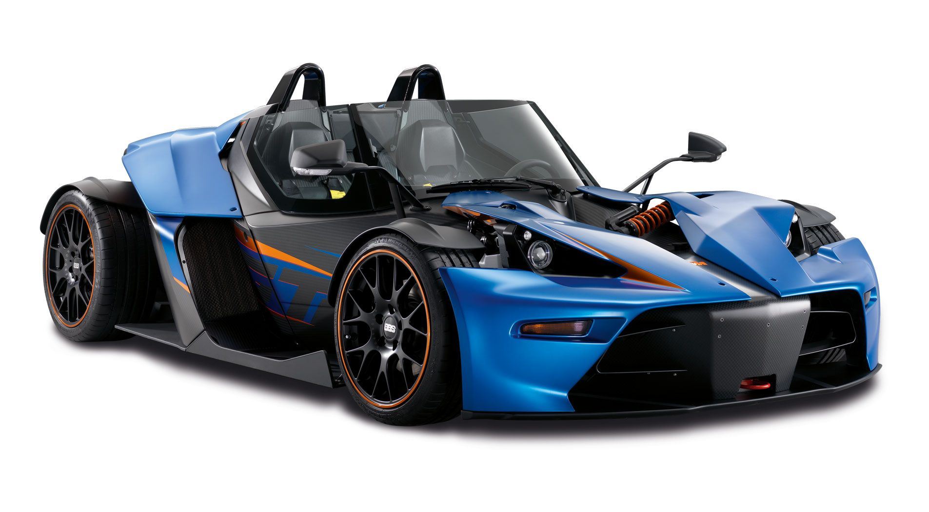 The KTM X bow GT is a newer more refined version of the normal x