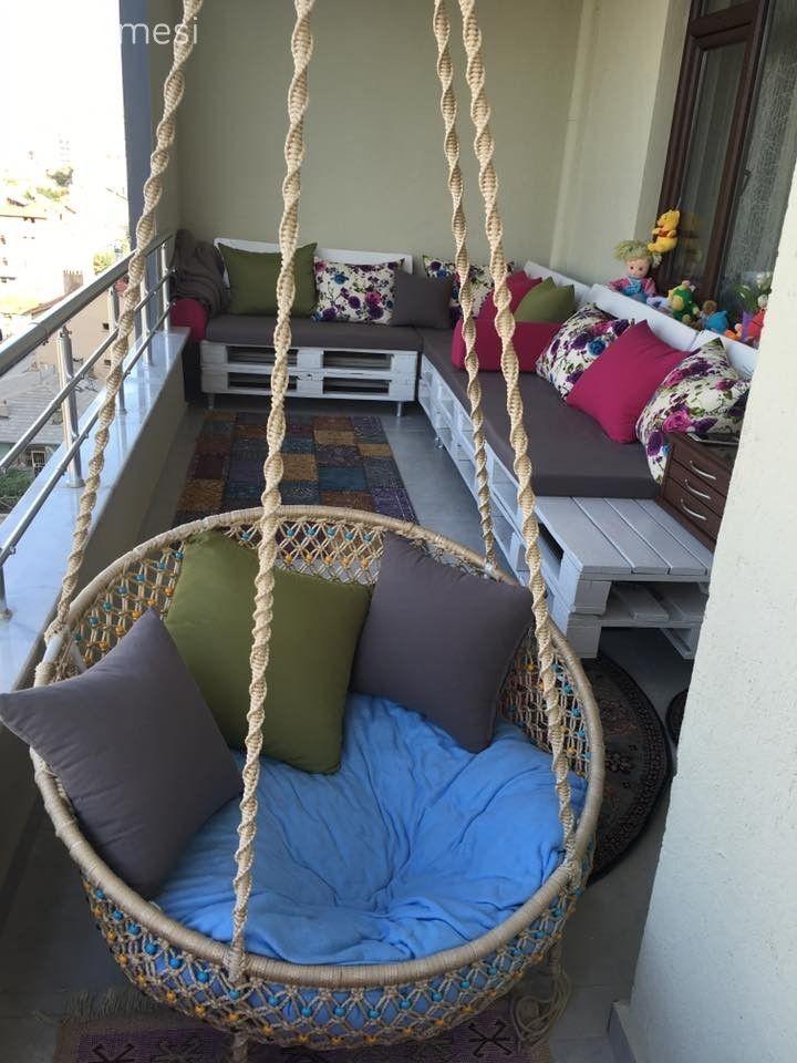 Balkon dekorasyonu zamanı. Gerçek evlerden 28 şahane balkon tasarımı.. #balkondeko