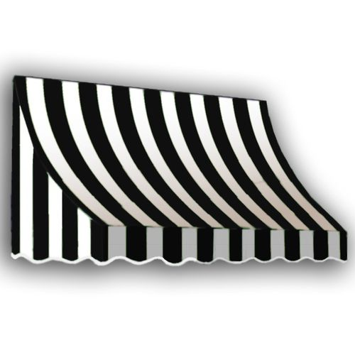 I Like These They Make Me Smile They Look Like Eye Lashes For The House Awntech 5 4 Wide X 3 Projection Window Awnings Door Awnings Black White Stripes
