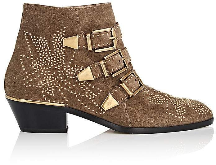 Womens Susanna Suede Ankle Boots Chlo�� A7GnE