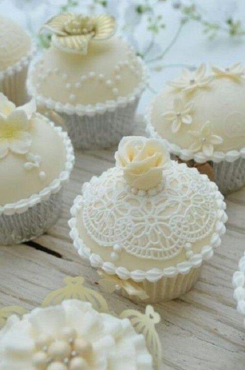 Elegant Wedding Cupcakes Decorating Ideas | Elegant cupcakes | cakes