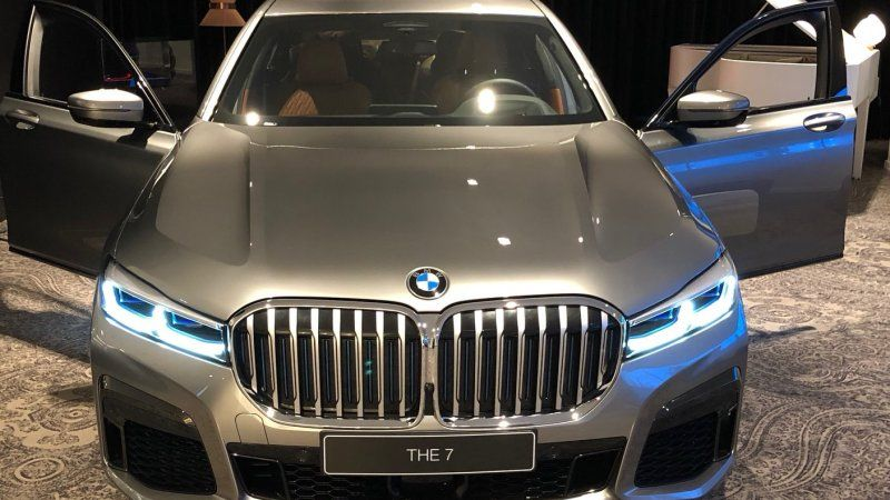 2020 Bmw 7 Series Photos Lead On Twitter Show A Big Bold Grille Bmw 7 Series Bmw Bmw Series