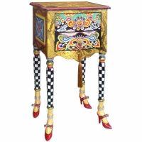 Petit Meuble D Appoint Baroque 70 Cm Hauteur Collection Versailles