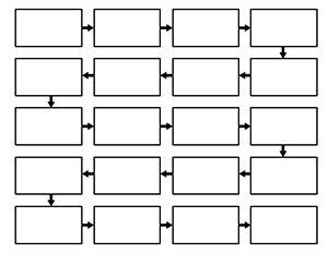 Chronological Flow Chart | Classroom | Pinterest | Graphic ...