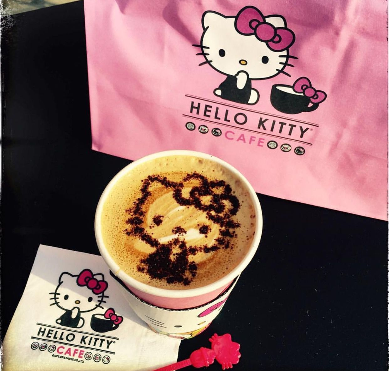 Pin by kat staxx on hello kitty junkie kitty cafe hello