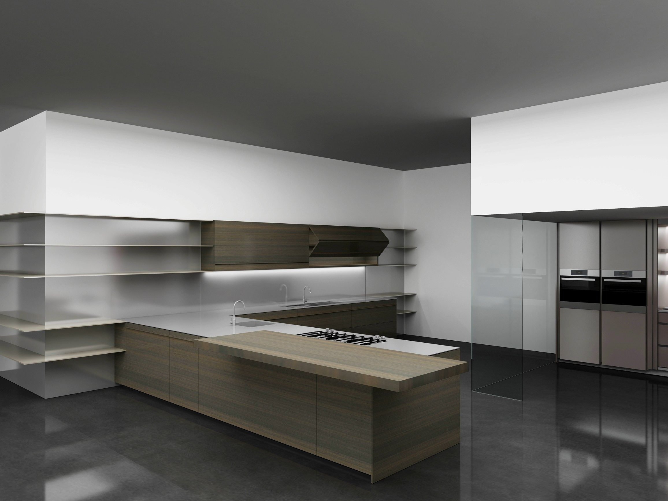 Cucina Dada Molteni Kitchen With Integrated Handles Vela By Dada Design Dante