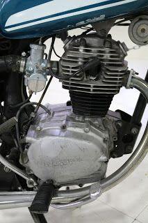 OldMotoDude: 1970 Honda CB100 On Display At The San Diego Auto Museum, Ca.