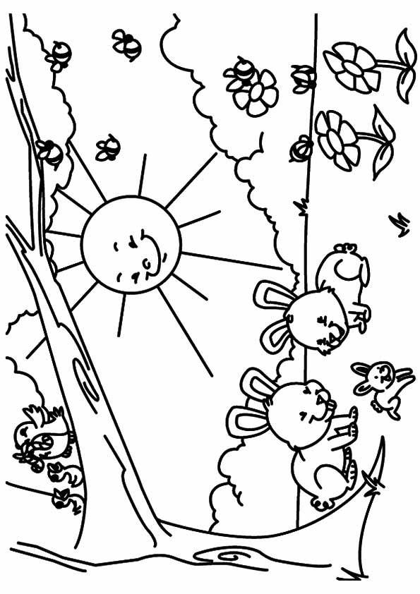 Print Coloring Image Momjunction Spring Coloring Pages Coloring Pages Coloring Pages Inspirational