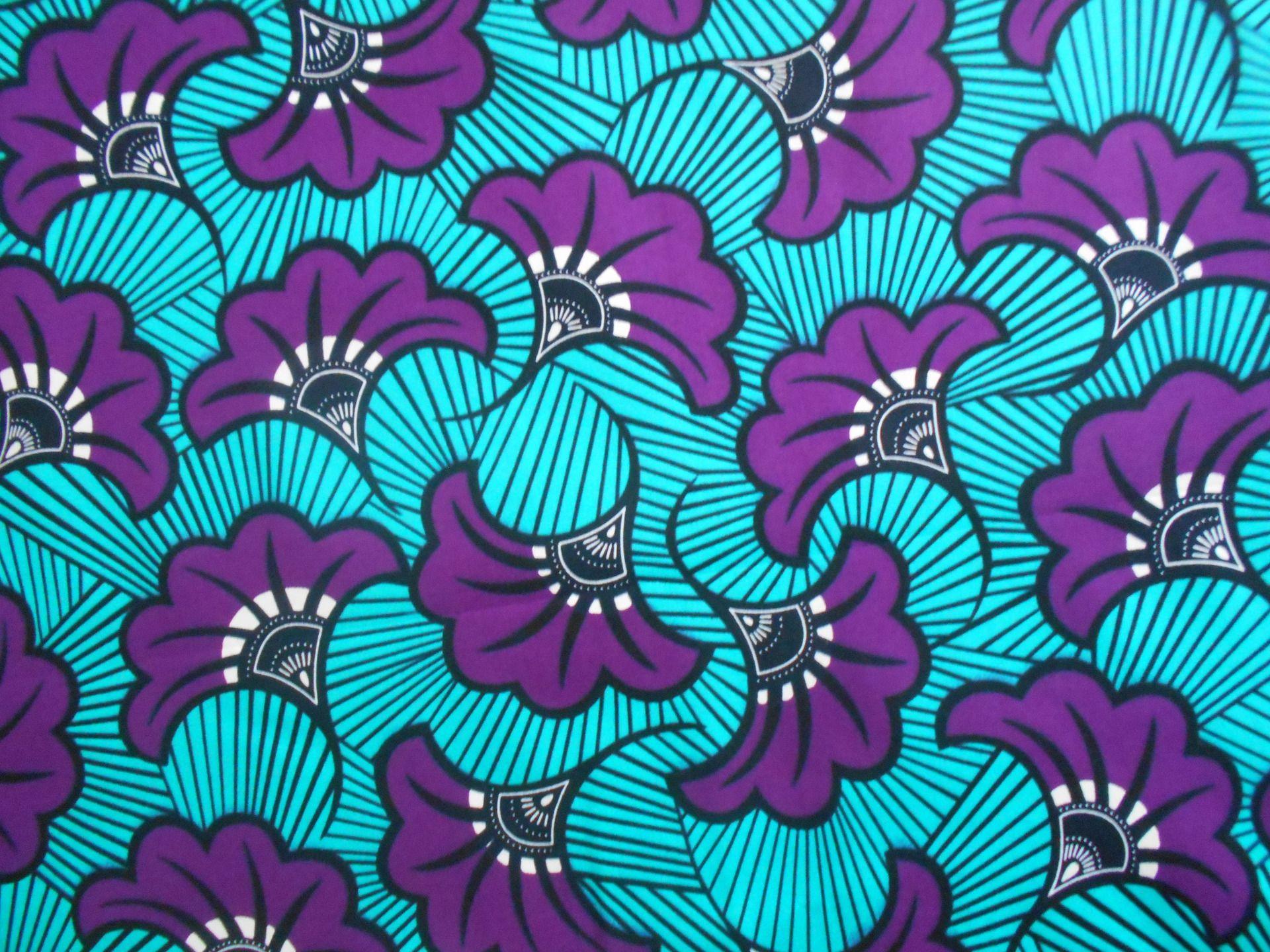 Wax Tissu Pagne Africain En Coupon 39cm X 55cm Tissu Africain Tissu Africain Wax Africaine