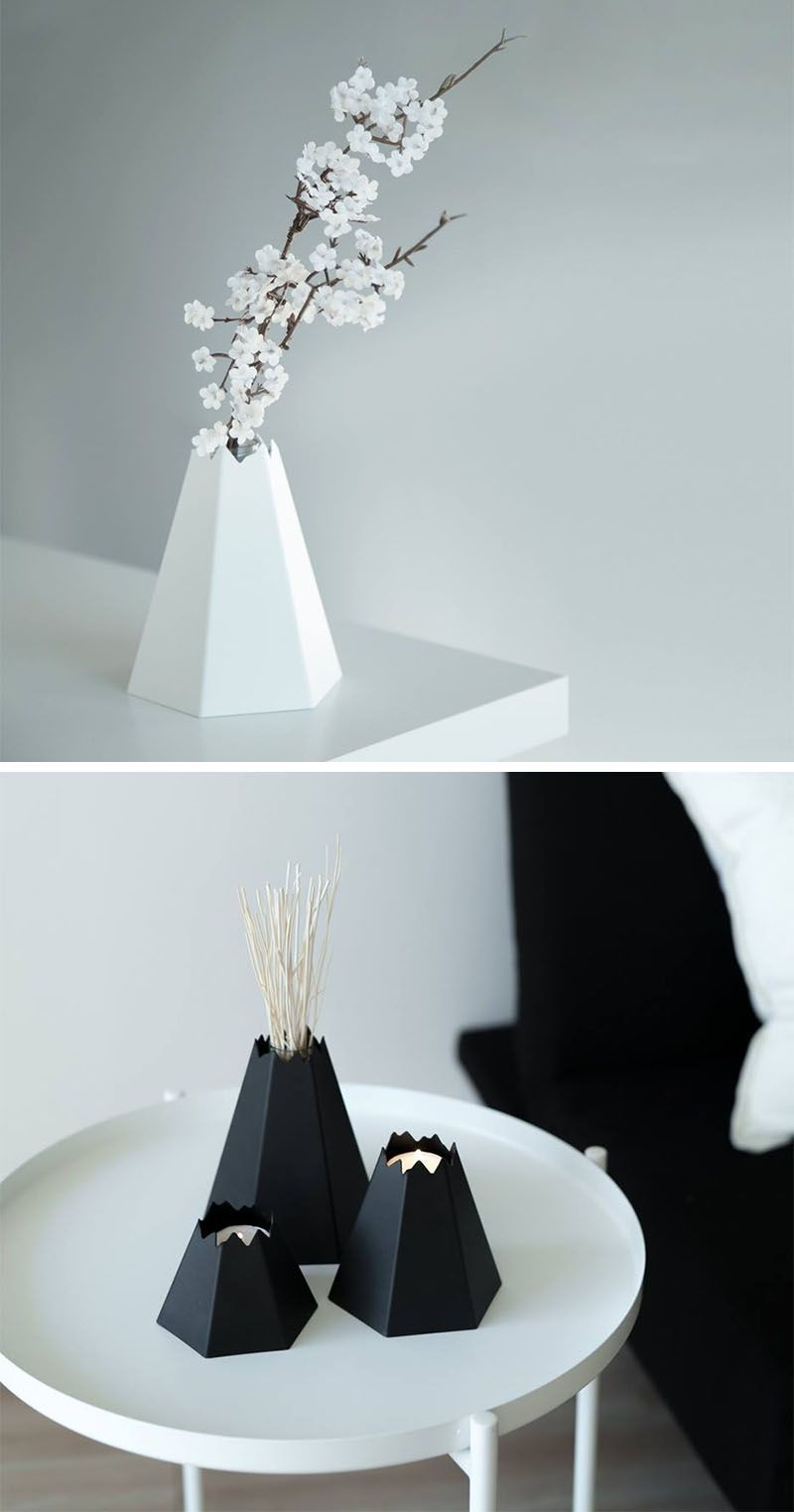 Origami Inspired The Design Of These Small Home Decor Items