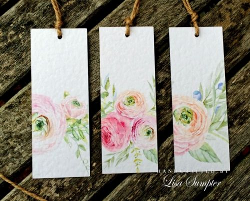 Watercolour is HUGE at the moment and is being use a lot in wedding celebrations and in the paper crafting world. Here's Lisa to show you how to use watercolour the easy way.