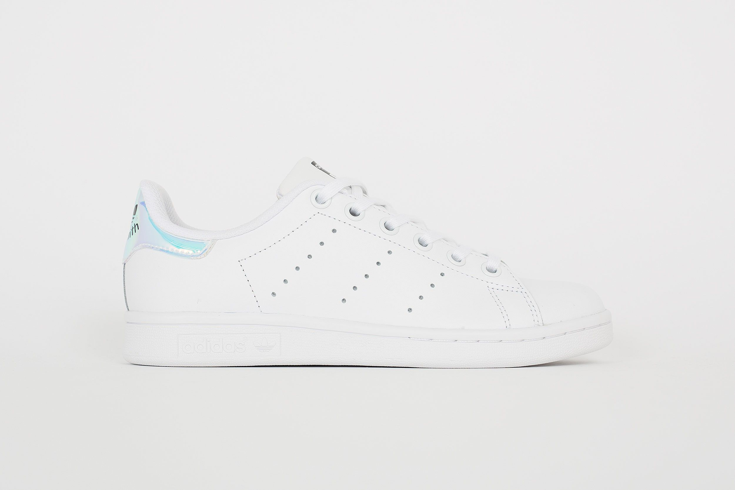 Adidas - Stan Smith J {in White/ metallic}