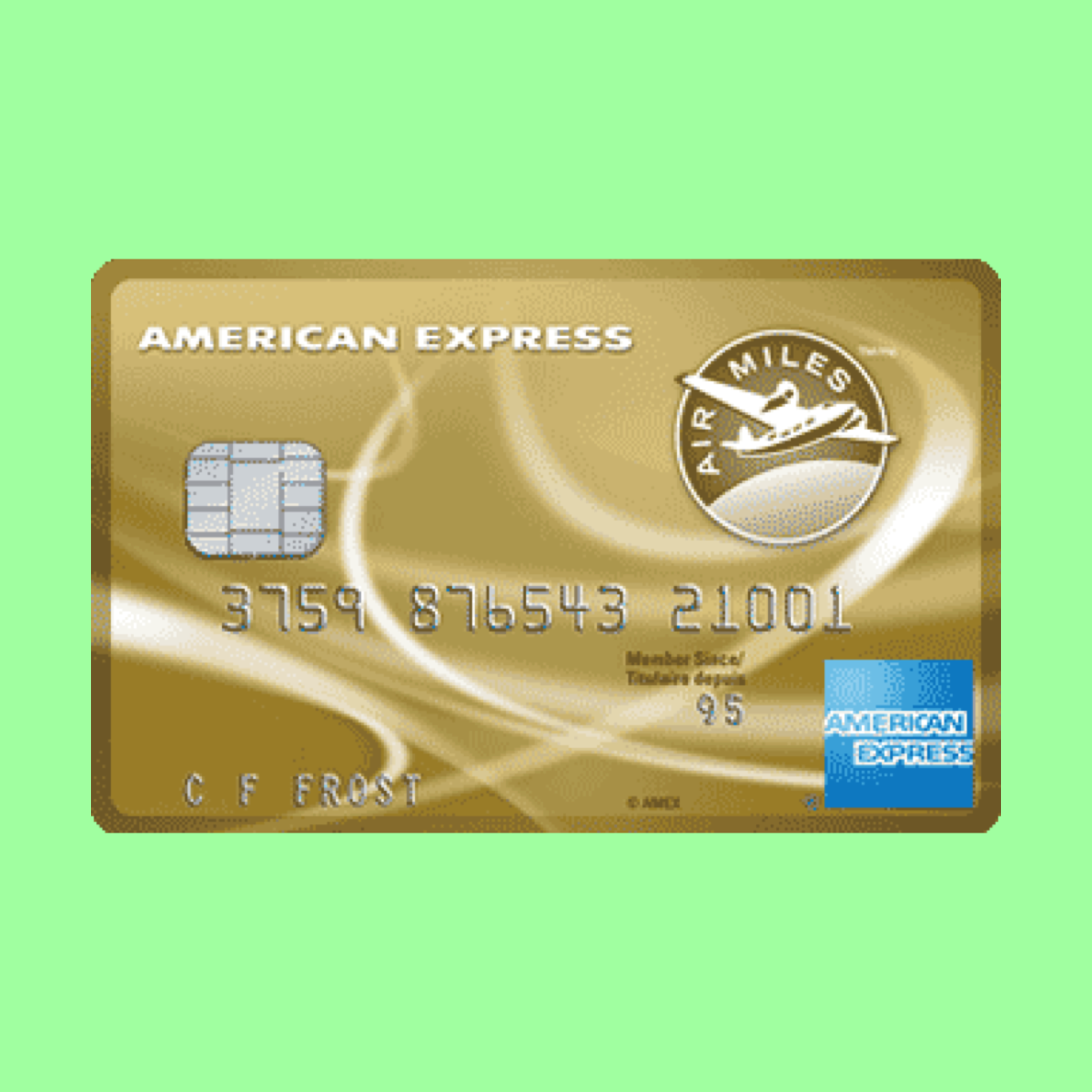 Amex Air Miles Gold Credit Card The Point Calculator Amex Card Gold Credit Card Miles Credit Card