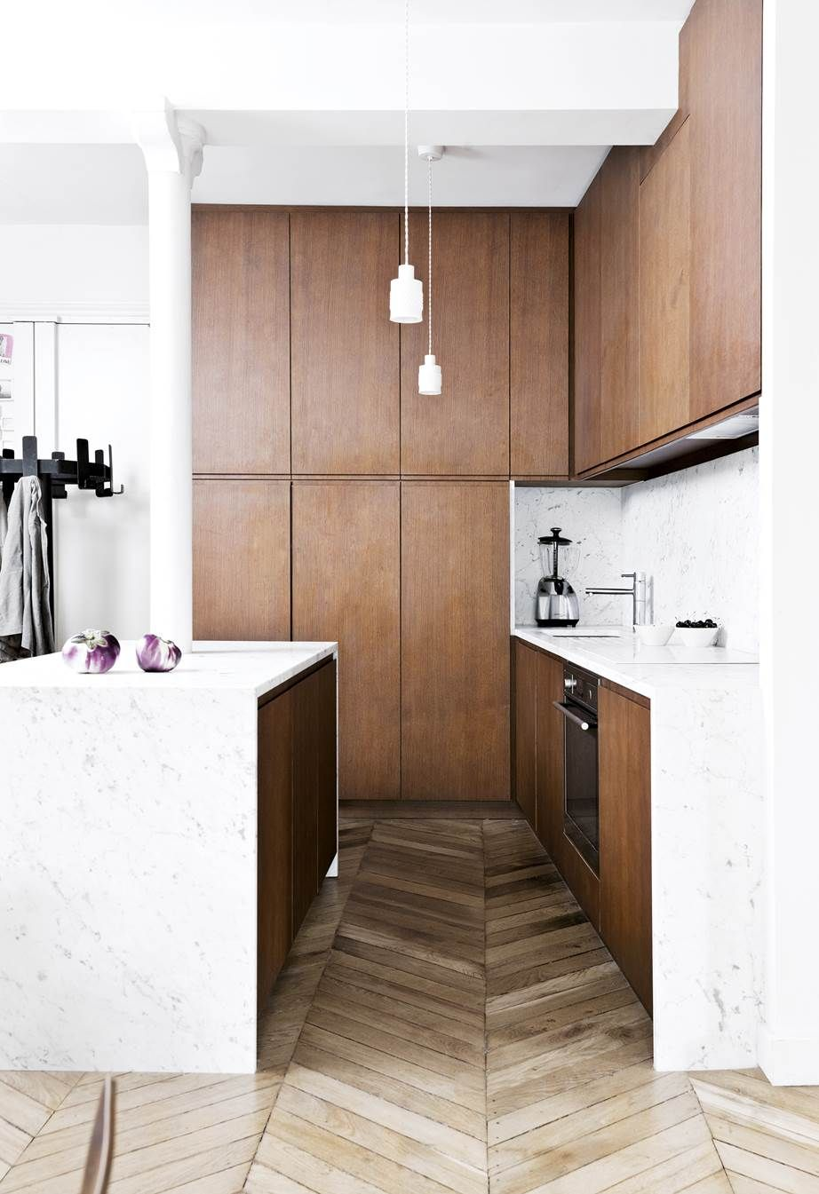 20 Kitchens With Clever Design Ideas To Steal Apartment Decorating - Kitchen-design-shows-exterior